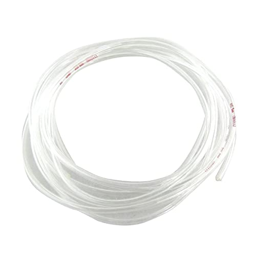 SODIAL(R) Transparente 4 Metros 13.1Ft 4 mm x 2,5 mm