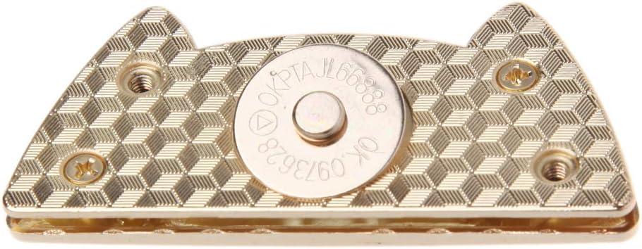 JENOR Chat Mignon Fermoir magn/étique Fermeture Bouton-Pression Boutons Pression Porte-Monnaie Sac Fermeture DIY