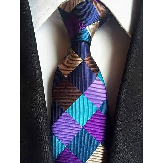 XZ Corbata de moda Nuevo clásico 8Cm Paisley Corbatas de seda de ...