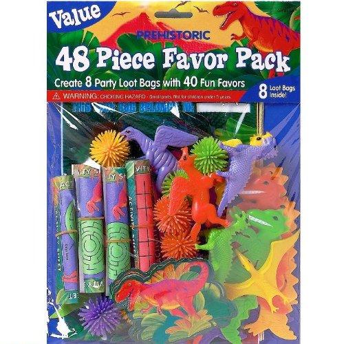 Pinata F/üllmaterial Favor Pack Dinos