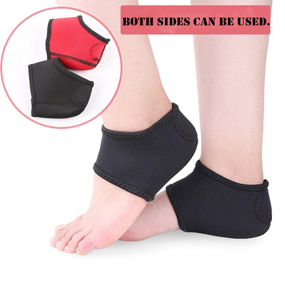 USHOT, Outdoor Heel Heel Protective Sleeve Relieves Heel Pain and Heel Cracking EWF153Y