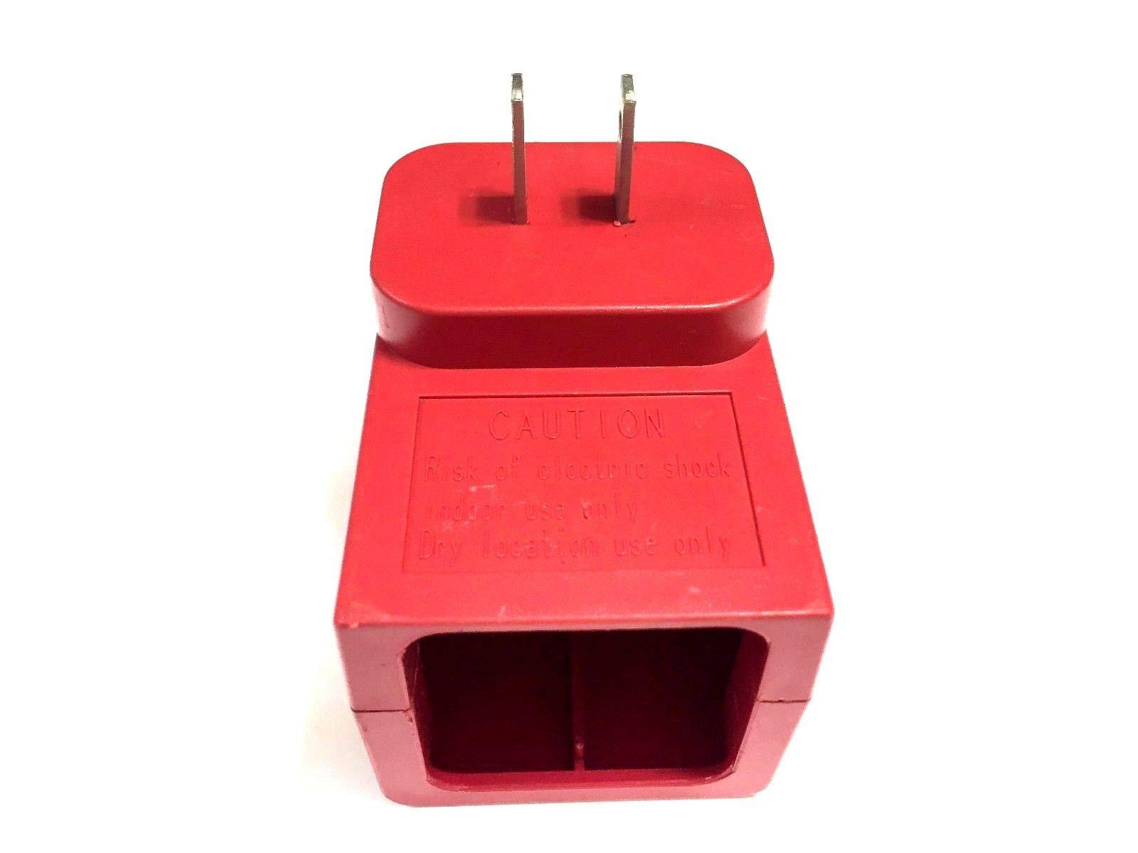 PurrsianKitty Wall Charger for All Handheld Swivel Sweeper G1 G2 G3 G6 G8 Max Sweeper - 7.2 V - Red