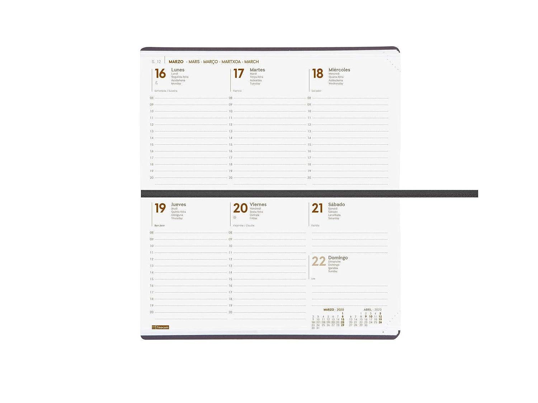 Amazon.com : Finocam - Agenda 2020 Week View Vertical ...