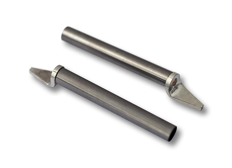 AOYUE 2x Punta de Soldador Repuesto Pinza Desoldador 2mm: Amazon.es: Bricolaje y herramientas