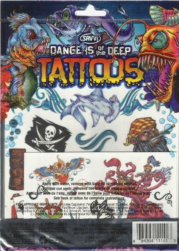 PIRATE Tattoos Dangers Deep tattoos product image