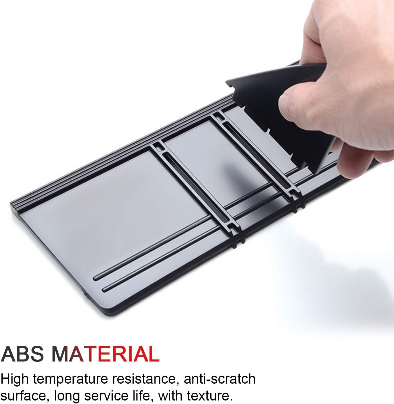 LFOTPP Center Console Organizer for CHR 2018-2019,Car Accessories Armrest Box Internal Storage Insert Divider Glove Box Organizer Partition
