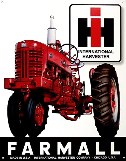 amazon com farmall 400 international harvester metal sign