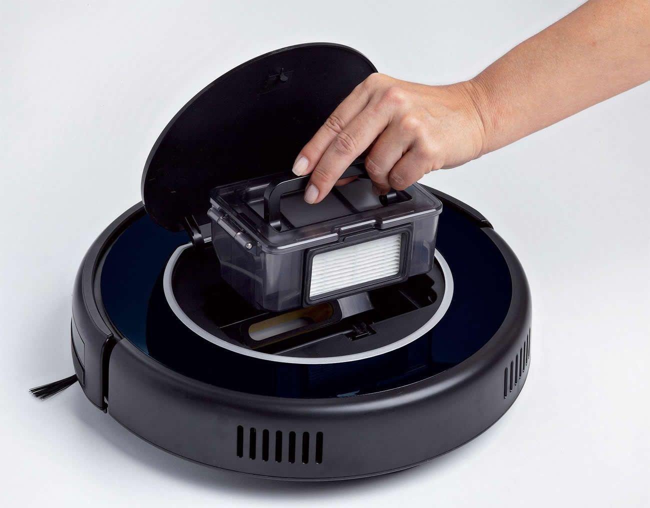 Ariete 2.0 Pro 2712 - Robot de limpieza briciola digital, 25 vatios sensor, con enchufe de UK, color negro: Amazon.es: Hogar