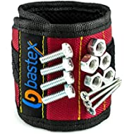 Bastex Magnetic Wristband With Strong Magnets for Holding Screws, Nails, Bolts, Drill bits, and...