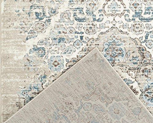 4620 Distressed Cream 5 2x7 2 Area Rug Carpet Large New