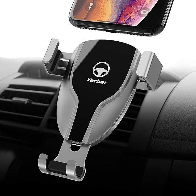 15 opinioni per Yarber Supporto Smartphone per Auto 360 Gradi di Rotazione Porta Cellulare da