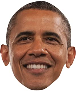 Barack Obama Celebrity Mask, Card Face and Fancy Dress Mask