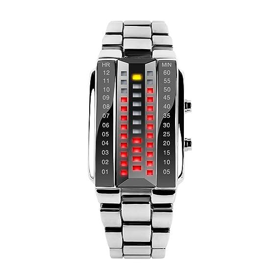 Skmei Relojes para hombres, al aire libre, LED, cómodo, digital
