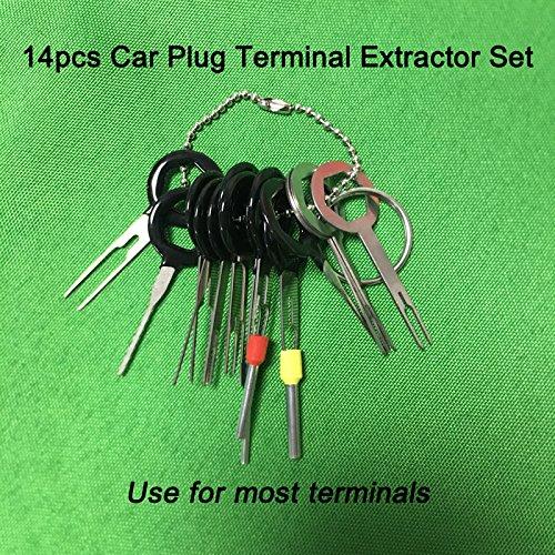 Pcs auto car plug circuit board wire harness terminal