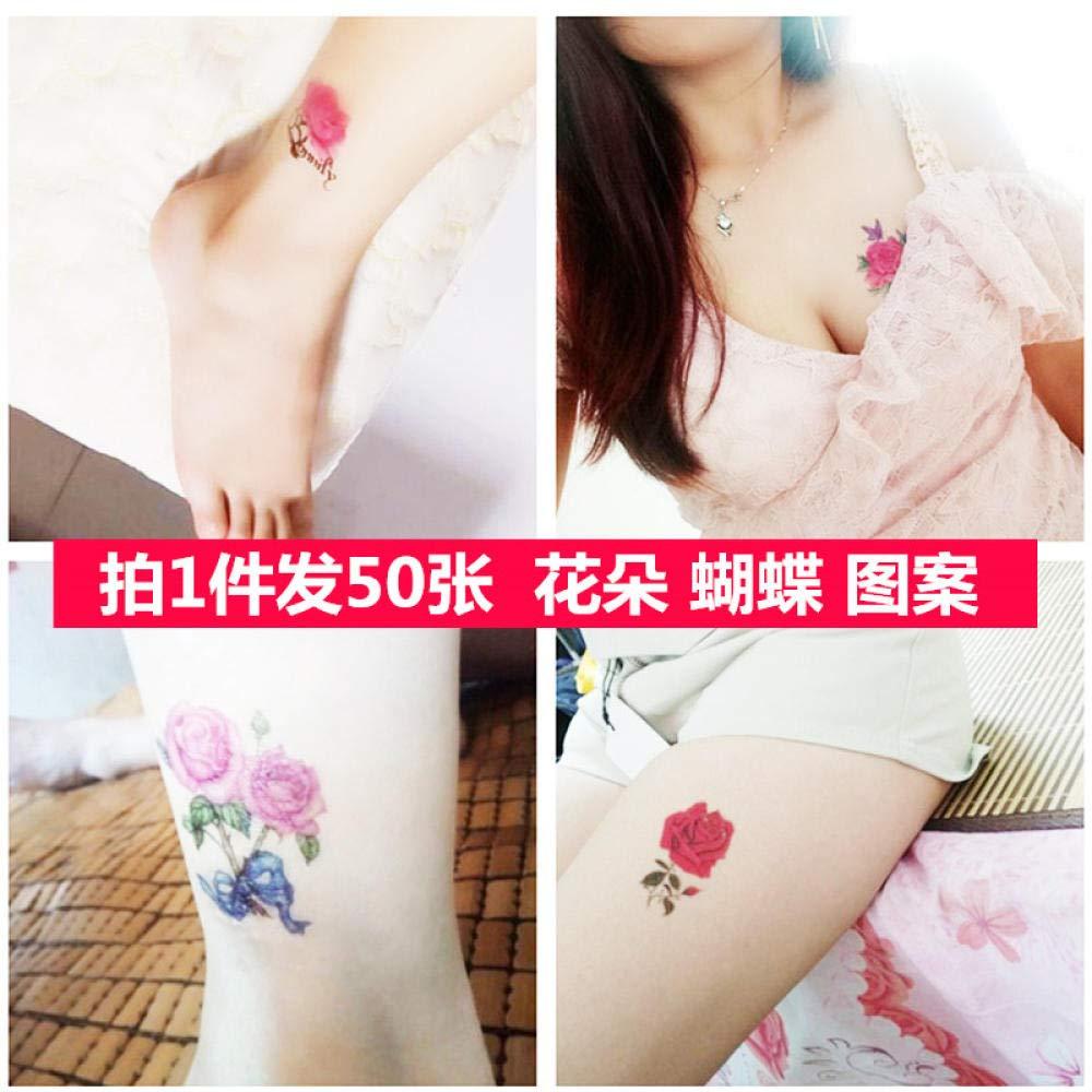 Pegatinas de tatuaje traje de mujer impermeable simulación de ...