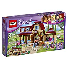 LEGO Friends 41126 Heartlake Riding Club Building Kit (575 Piece)