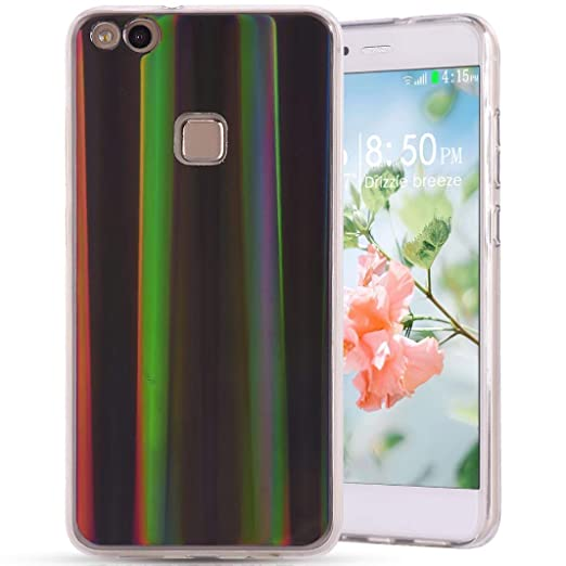 Carcasa Huawei P10 Lite silicona, única aurores boréales ...