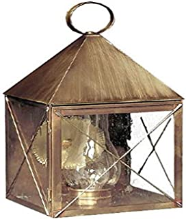 product image for Brass Traditions 511 SXAB Large Wall Lantern 500 Series, Antique Brass Finish 500 Series Wall Lantern