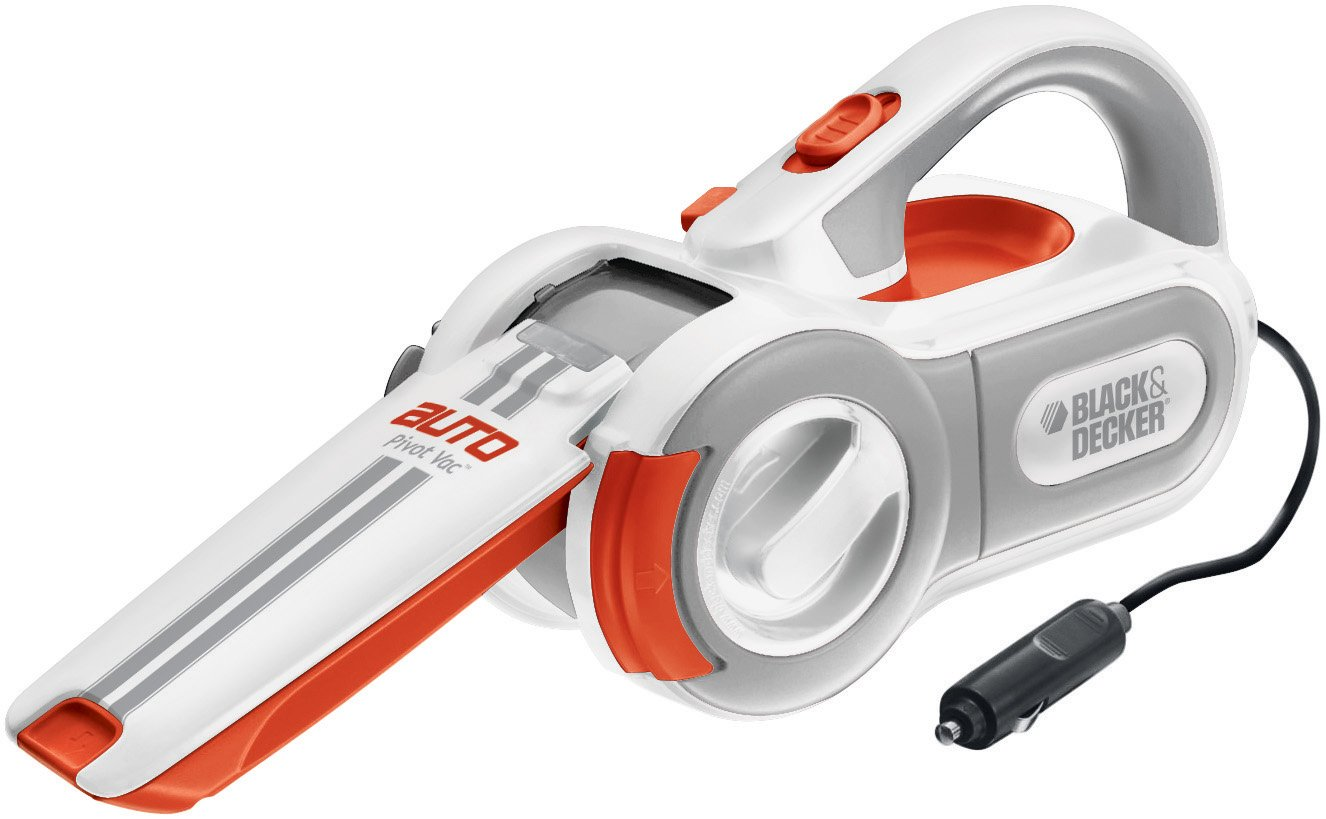 Black & Decker Cyclonic-Action 12-Volt Pivoting-Nose Automotive Handheld Vacuum Cleaner
