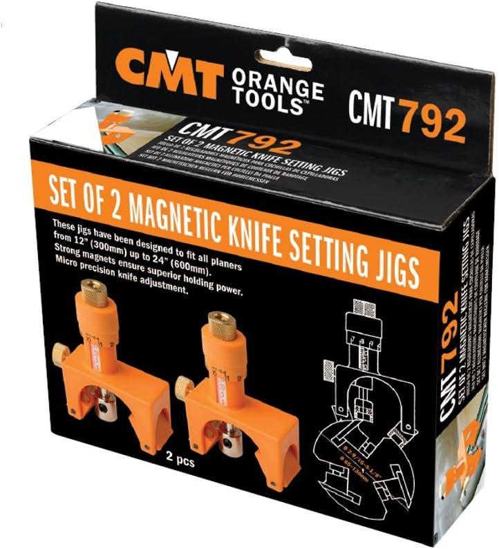 cmt coppia calibri magnetici posizionamento coltelli pialla cmt792 combinata