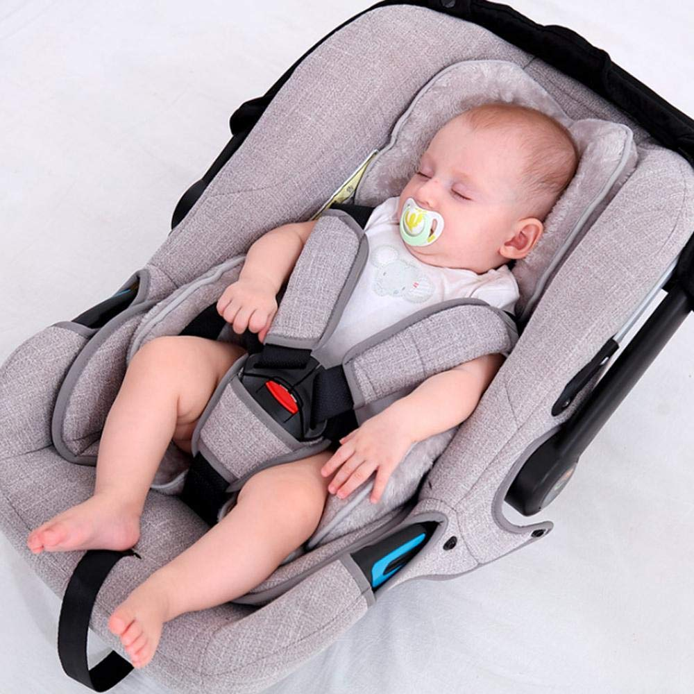 Infant Car Seat Insert Newborn Neck and Body Support Soft Pillow Cushion Goglor Baby Head Support Protector for Baby Car Seat and Strollers Gift Liner