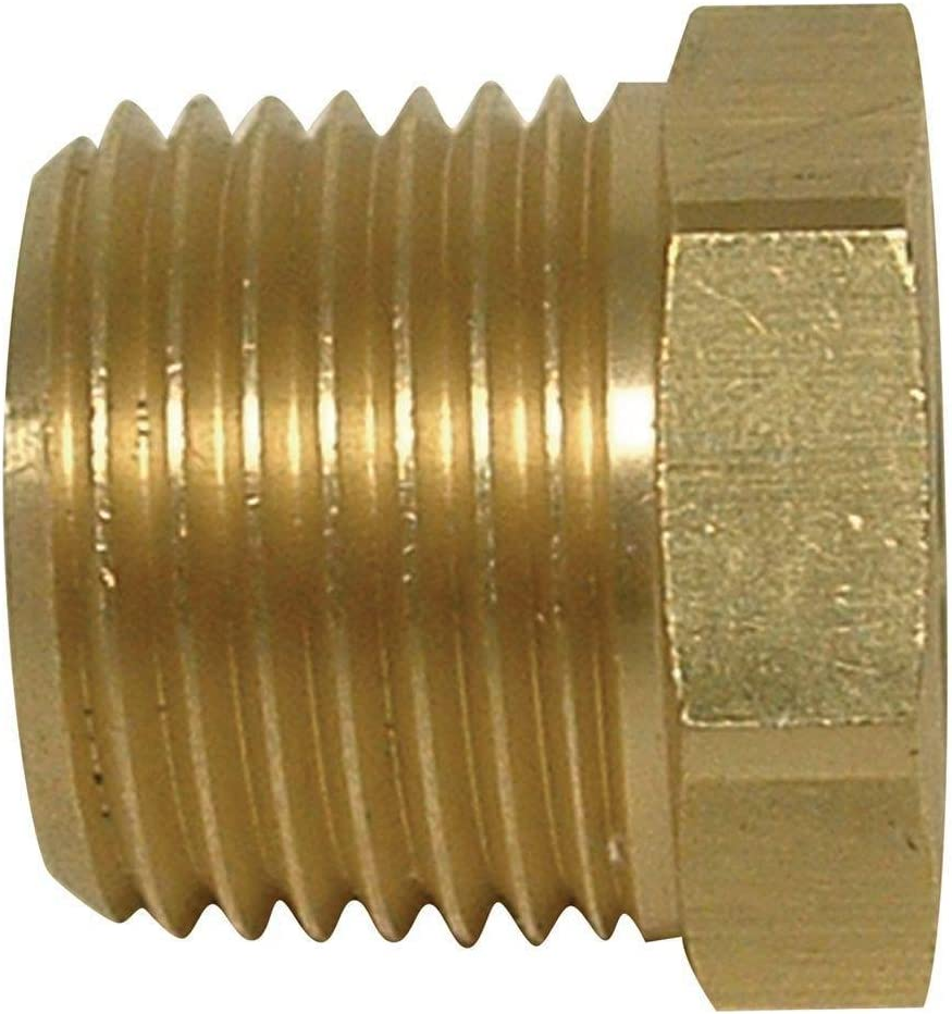 1//2 x 3//8 FIP Brass Coupling Lead Free