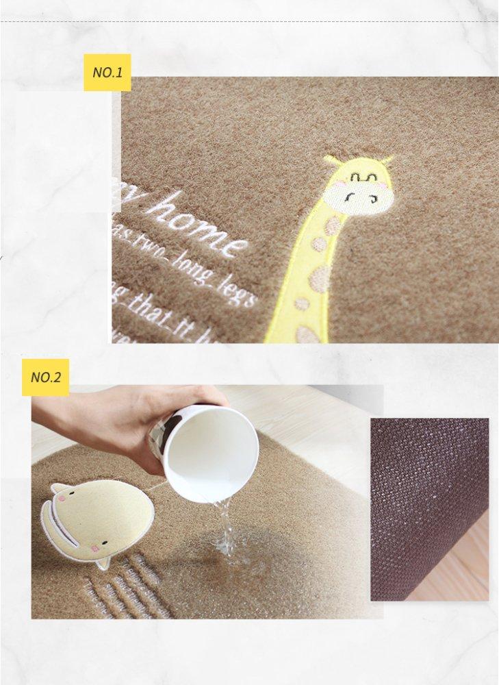 YYY WLQ Küchenmatte - Lang ölBesteändig Bodenmatte Bodenmatte Bodenmatte - Bad Anti-Rutsch-Tür Tür absorbierende Türmatte - Türmatte Schlafzimmer zu Hause B07FMKLNP1 Duschmatten 7946d1