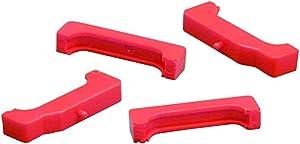 PROTHANE 7-1711 Red Urethane GM Style Small Block Engined Radiator Isolators