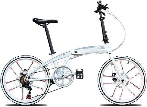 WJSW Bicicleta Plegable para Mujeres Hombres Bicicletas Bicicleta ...