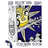 Sun Moon and Stars Coloring Book