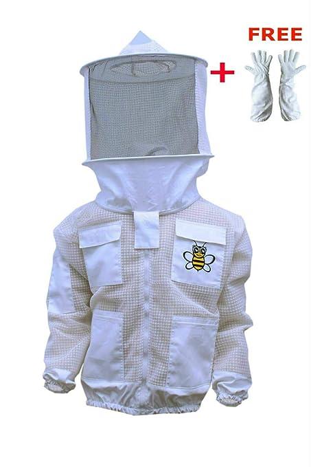 Amazon.com: Traje de abeja de 3 capas de seguridad, unisex ...