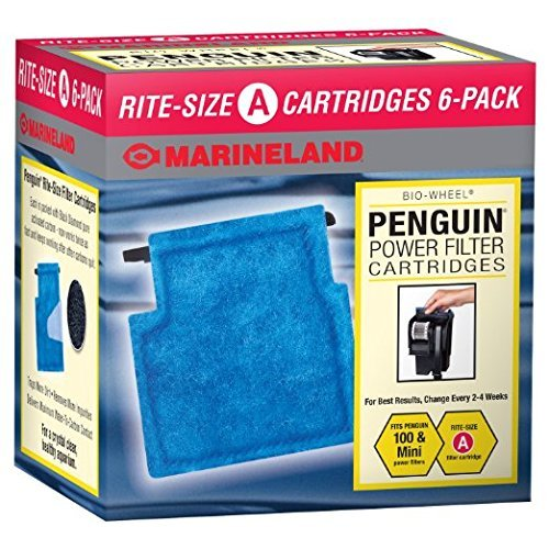 Rite-Size Cartridge Pre-Assembled Refills, by Marineland by MarineLand