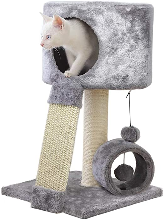 allpetsolutions - Árbol rascador para Gatos, diseño de Torre de Escalada: Amazon.es: Productos para mascotas