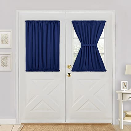 Amazon Pony Dance French Door Curtain Top And Bottom Rod