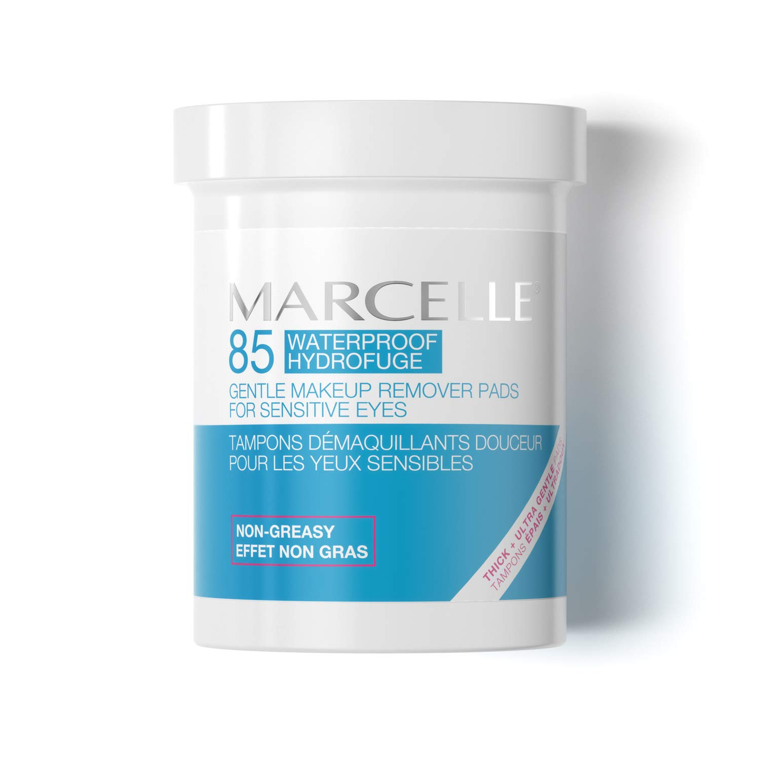 Marcelle Gentle Eye Makeup Remover Pads, 85 Pads Marcelle group - Beauty 167196