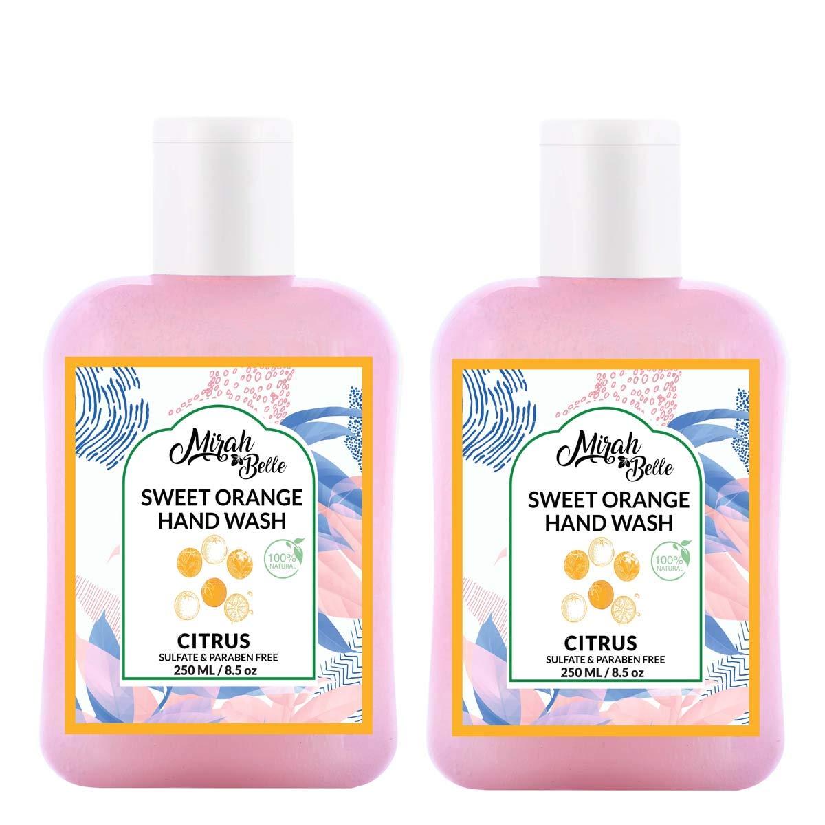 Mirah Belle – Sweet Orange Hand Wash (Pack of 2)