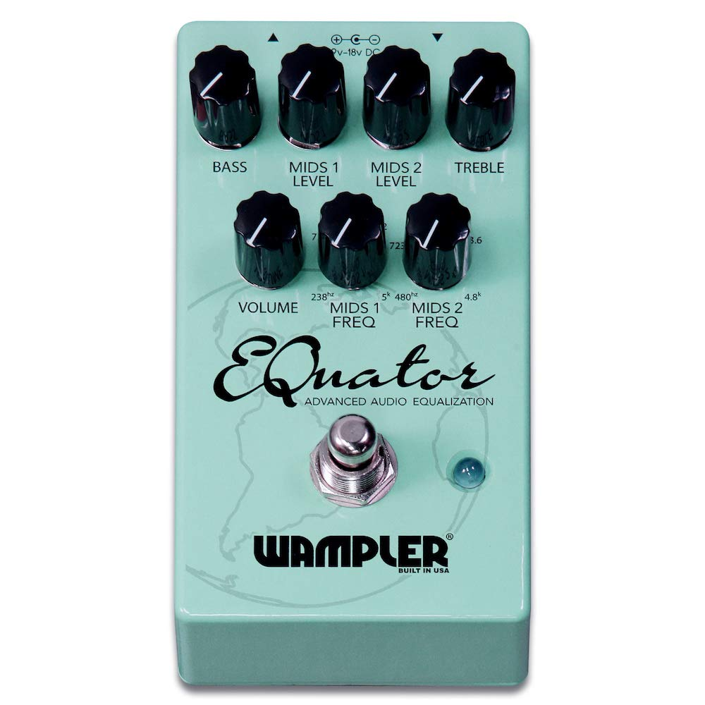 Wampler Equator Advanced Audio Equalizer Guitar Effects Graphic Equaliser Electronic Boy For You Pedal Musical Instruments