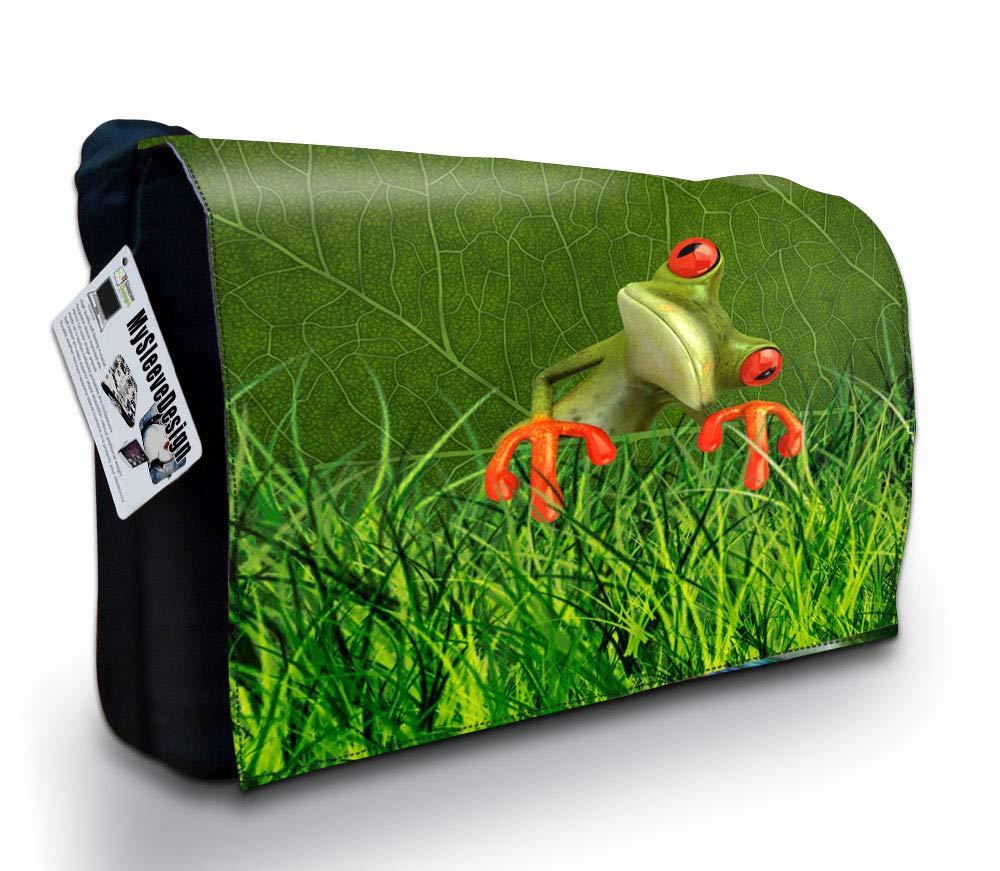 MySleeveDesign Notebook Cartable Messager à bandoulière Sac ordinateur portable 13,3 Pouces/14 Pouces/15,6 Pouces/17,3 Pouces - Plusieurs Modeles