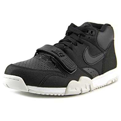 best website bf433 79151 Nike Air Trainer 1 Mid Men US 8 Black Basketball Shoe 3044 UK 7