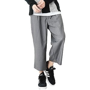 (ベストマート)BestMart エステル 選べる ロング ガウチョ ワイド パンツ メンズ ボトムス スラックス ゆったり モード系 621389