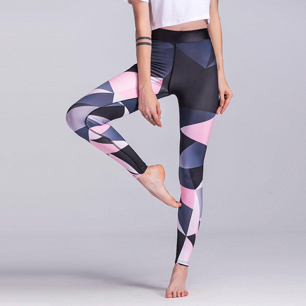e123a9b15 Ropa XNRHH 2017 Ajustable Yoga Impreso Pantalones De Fitness Pies Elásticos  Apretados Polainas De Funcionamiento De Las Mujeres