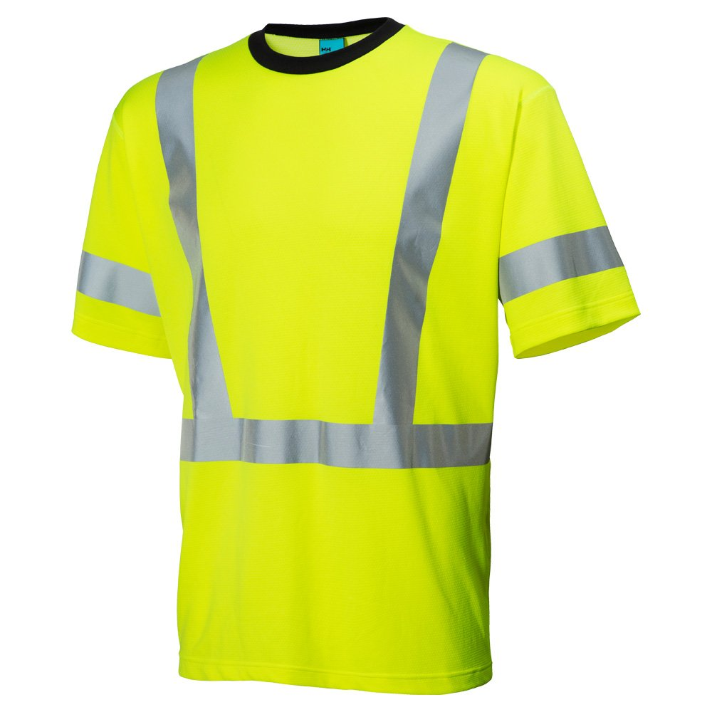 Helly Hansen 75035_360-L Esbjerg Hi-Vis T-Shirt, Large, Yellow by Helly Hansen (Image #1)