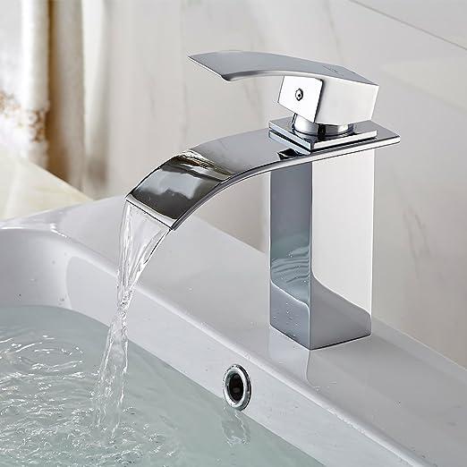 4 opinioni per Auralum® elegante Design apparato Miscelatore monocomando rubinetto del bacino