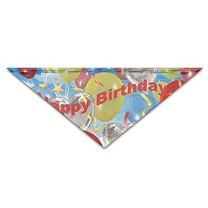 Amazon Yohafke Dog Bandana Scarf Triangle Bibs Birthday