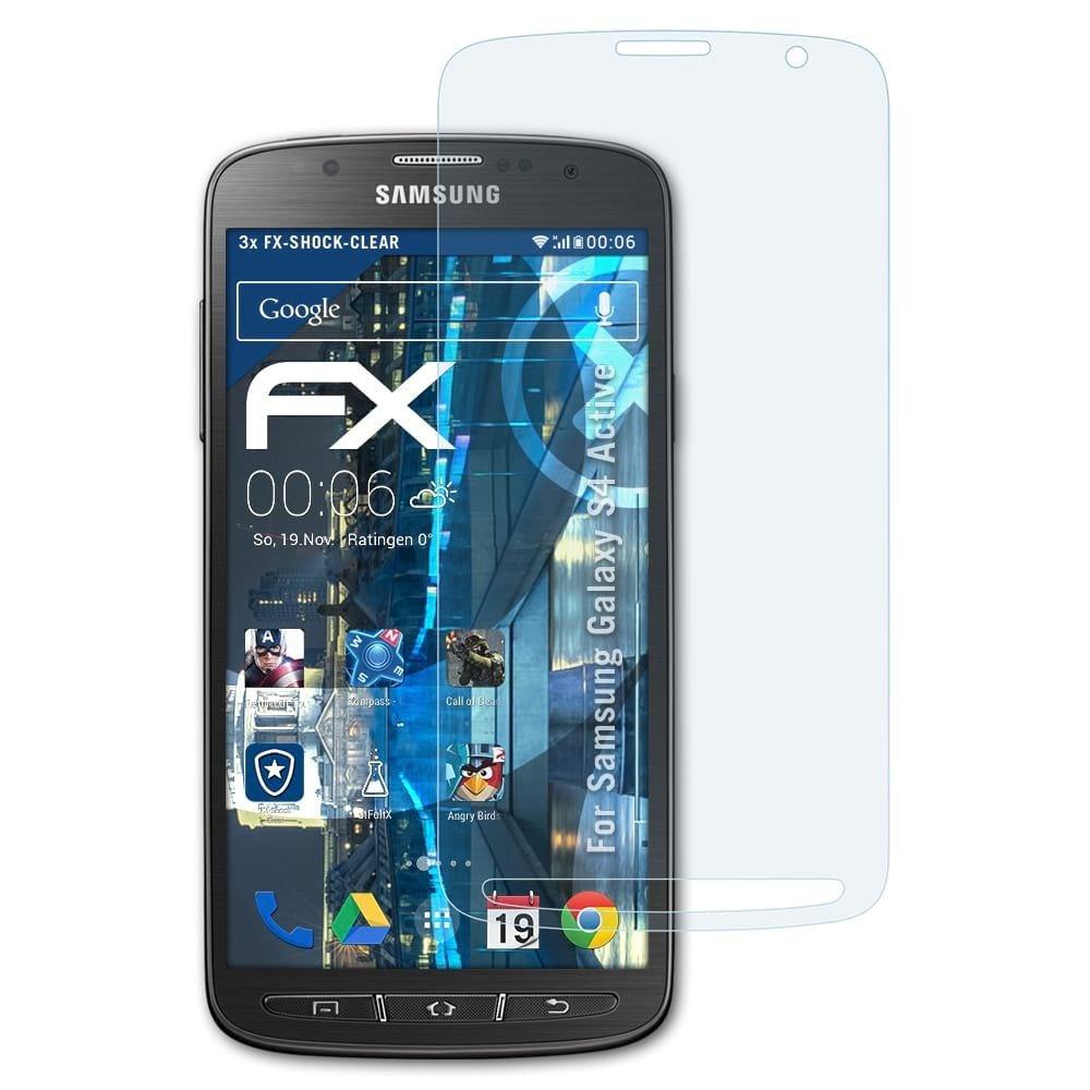 atFoliX Antichoque Película Protectora para Samsung Galaxy S4 ...