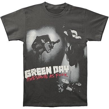 Green Day - - Männer genial, da F ** K T-Shirt in Schwarz, Small, Black:  Amazon.de: Bekleidung