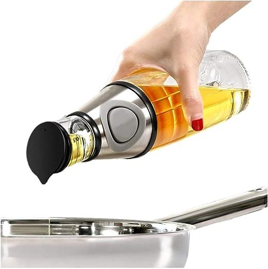ALIXIN-Dispensador de Aceite de Oliva y vinagre-17 oz Botella de ...