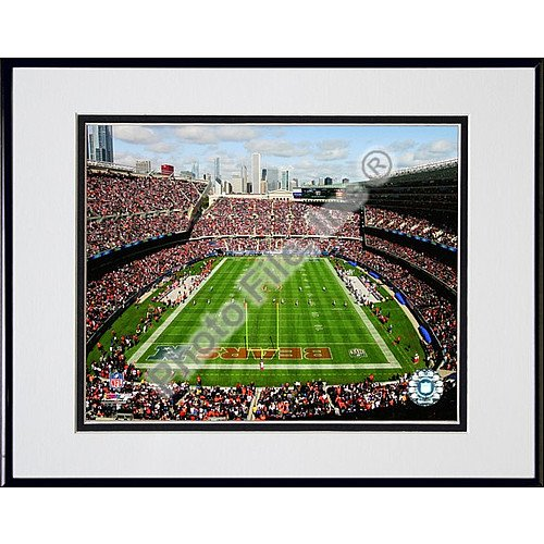 (Photo File Chicago Bears Soldier Field Framed Photo)