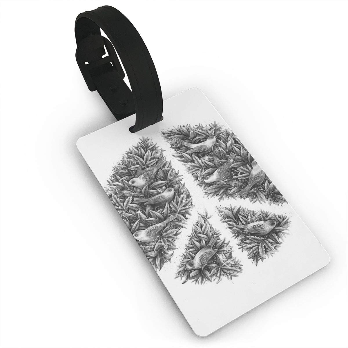 Peace Naturalis Luggage Tags Suitcase Labels Bag Travel Accessories Set of 2