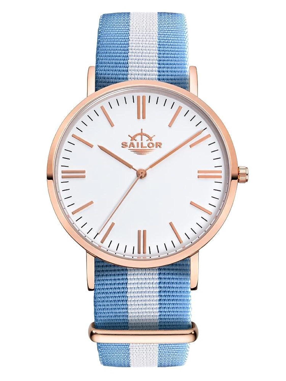 Sailor Armbanduhr Classic Sail mit Nylonarmband | Die Trend-Uhr 2017 auf vielen Fashion Shows von Paris bis New